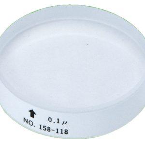 Пластина стеклянная 12mmоптическая 158-118 Mitutoyo